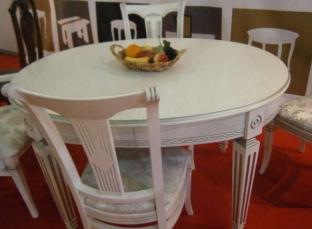 Овальный стол руджери