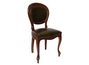 стул 20/к кожа зеленый