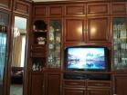 Угловая модульная мебель для гостиной с нишей под телевизор