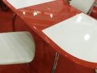 Стол Рондо с пластиком